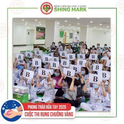 Lễ Phát Động Chiến Dịch Vệ sinh Tay & Phong Trào Chống Rác Thải Nhựa tại Bệnh viện ĐHYD Shing Mark