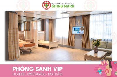 Phòng sanh VIP đã có mặt tại Bệnh viện ĐHYD Shing Mark