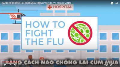 Cách hiệu quả nhất để phòng bệnh cúm mùa là tiêm vắc xin