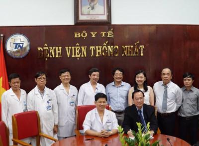 Hợp tác với BV Thống Nhất TP.HCM
