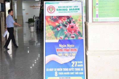 Chiến dịch rửa tay BV ĐHYD Shing Mark 2018