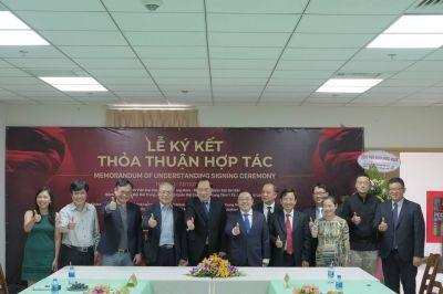 Kí kết thõa thuận hợp tác giữa Bệnh viện đại học y dược Shing Mark