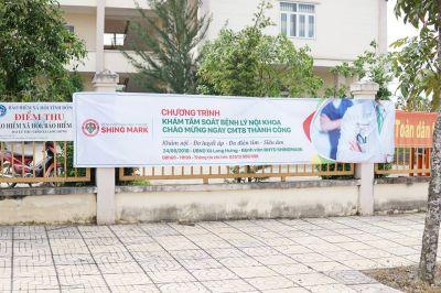 Khám cấp thuốc miễn phí tại X.Long Hưng, TP. Biên Hòa, ĐN
